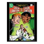 Green Lantern vs Green Lantern Postcard