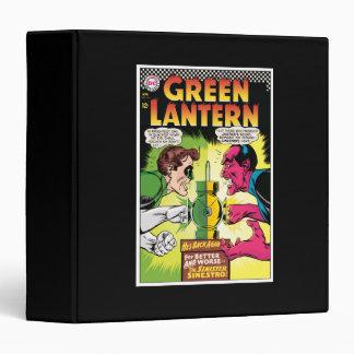 Green Lantern vs Sinestro Binder