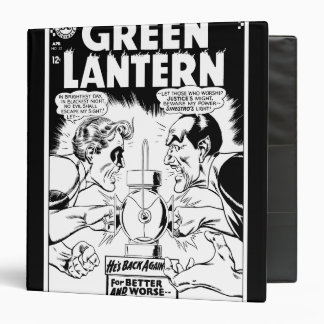 Green Lantern vs Sinestro, Black and White Binder