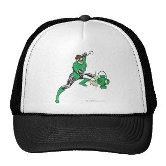 Green Lantern with Lantern 2 Trucker Hat