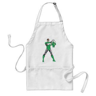 Green Lantern with Lantern Adult Apron