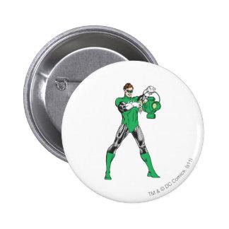 Green Lantern with Lantern Button