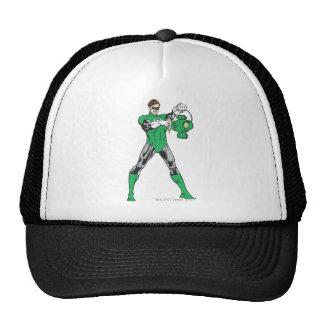 Green Lantern with Lantern Trucker Hats
