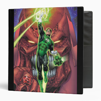 Green Lantern with stream of light - Color Binders
