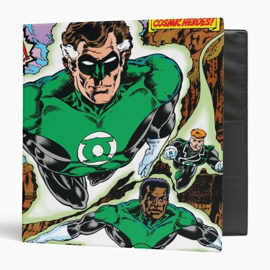 Green Lanterns Flying Binder