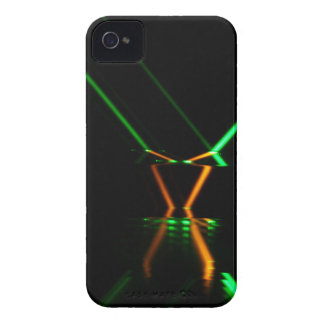 green laser beam reflection Case-Mate iPhone 4 case