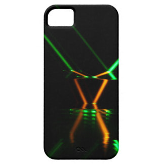 green laser beam reflection iPhone SE/5/5s case