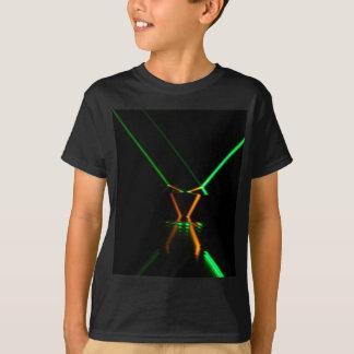 green laser beam reflection T-Shirt