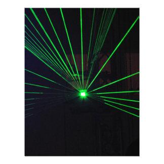 Green Laser Show Letterhead