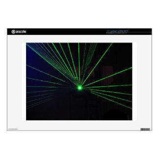 Green Laser Show Skins For Laptops
