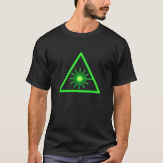 Green Laser Symbol T-Shirt