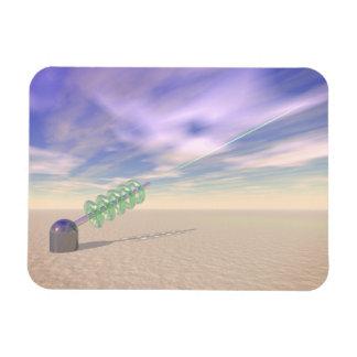 Green Laser Technology Magnet