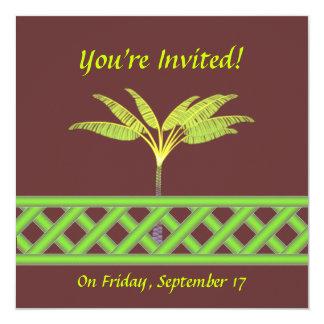 Green Lattice Invitations