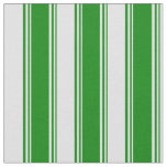 [ Thumbnail: Green & Lavender Colored Stripes/Lines Pattern Fabric ]