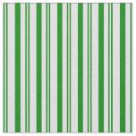 [ Thumbnail: Green & Lavender Pattern Fabric ]