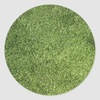 Green Lawn Classic Round Sticker