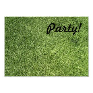 Green Lawn Custom Invitations