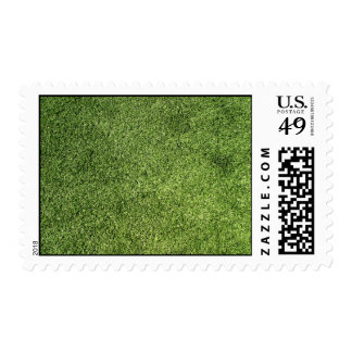 Green Lawn Postage Stamp