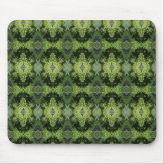 Green Lawncare Pattern Mouse Pad