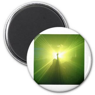 Green Lazerz Fridge Magnets