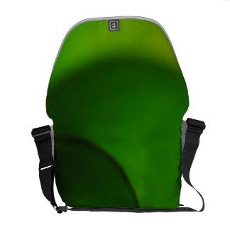 Green Leaf curled Messenger Bag
