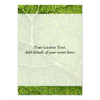 Green Leaf. Digital Art. Card