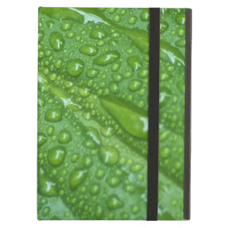 GREEN LEAF DROPS CASE FOR iPad AIR