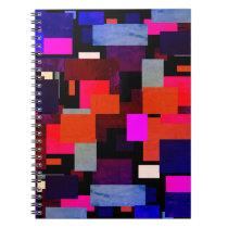 Green Leaf Geometric Notebook
