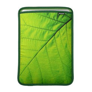 Green Leaf Macbook Air MacBook Air Sleeve