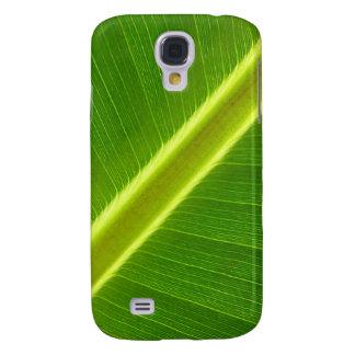 Green Leaf Macro Galaxy S4 Case