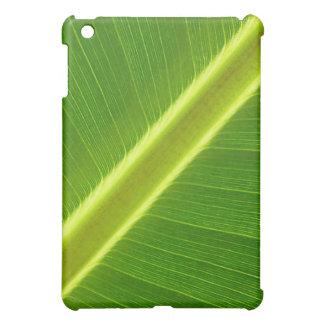 Green Leaf Macro iPad Mini Cover