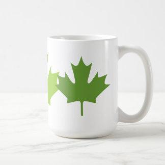 Green leaf - Mugs