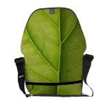 Green Leaf Nature Lover Courier Bags