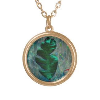 Green Leaf Necklace
