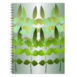 Green Leaf Notebook