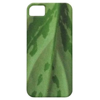 green leaf organic pattern iPhone SE/5/5s case