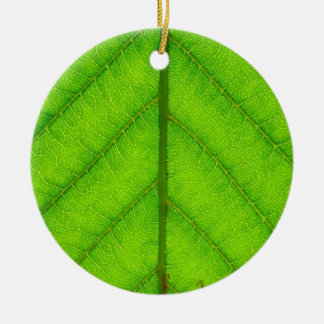 Green Leaf Ornament