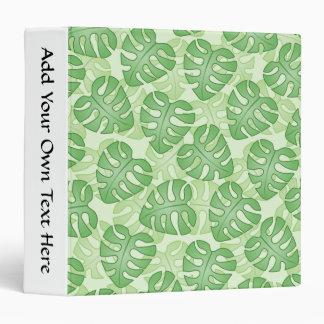 Green Leaf Pattern. Binder