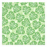 Green Leaf Pattern. Personalized Invitations