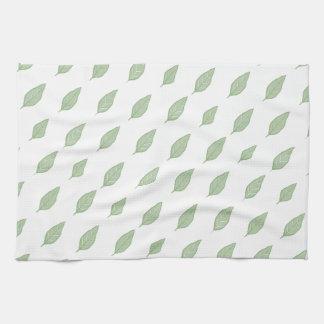 Green Leaf Towels