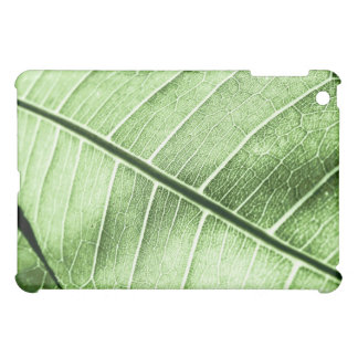 Green Leaf Vein iPad Mini Cases