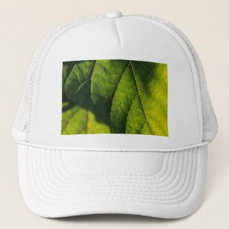Green Leaf Veins Trucker Hat