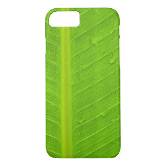 Green Leaf Water Drop iPhone 7 Case