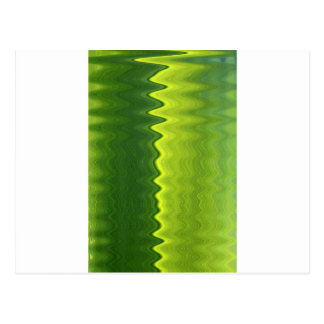 Green leaf wavelength postcard