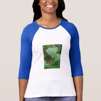 Green Leaf with Holes T-Shirt