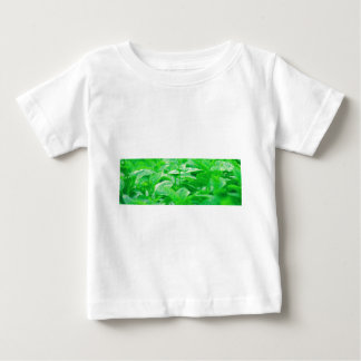 Green Leafs Baby T-Shirt