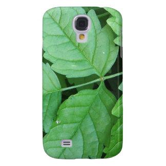 Green Leafs Details Galaxy S4 Case