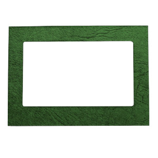 Green Leather Magnetic Frame