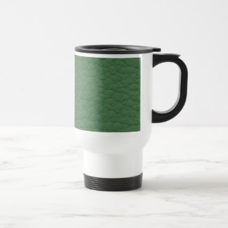 Green Leather Texture Coffee Mugs