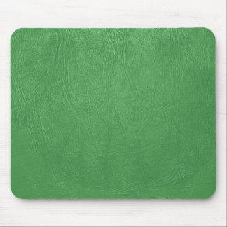 green leather texture mousepad